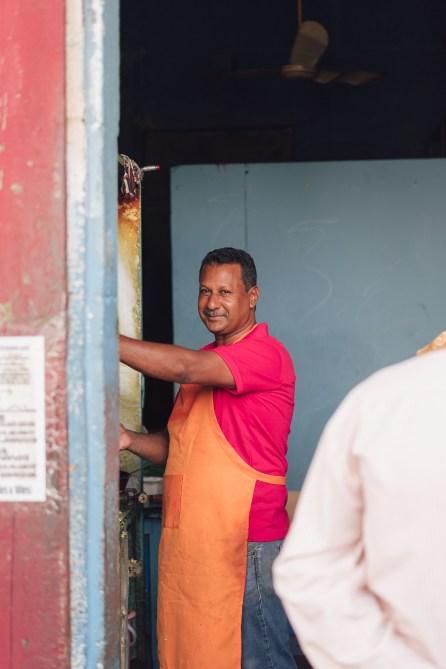 Portrait de rue - Visite de Port Louis