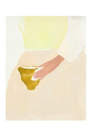 Peinture Bonjour Johanna