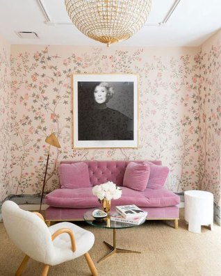 A modern touch of pink