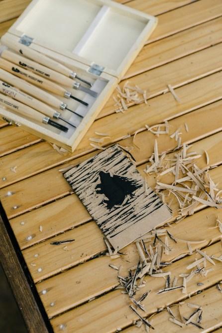 Atelier gravure sur bois-2