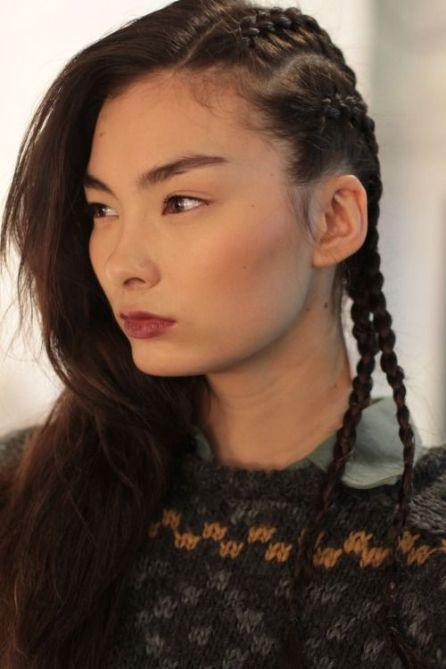 Tresses africaine side hair