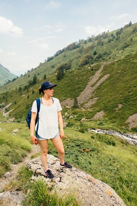 Capucine - Randonnée - Col d'Ilhéou