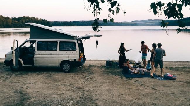 Picnic - Lac - Creuse - Vanlife