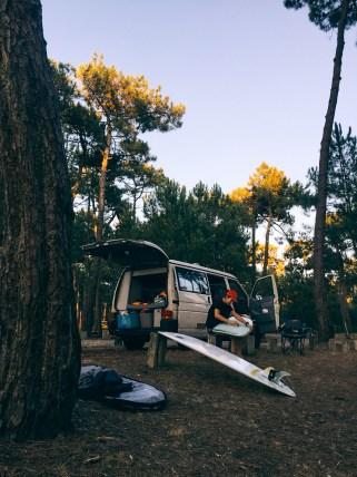 Surf et vanlife - California Volkswagen
