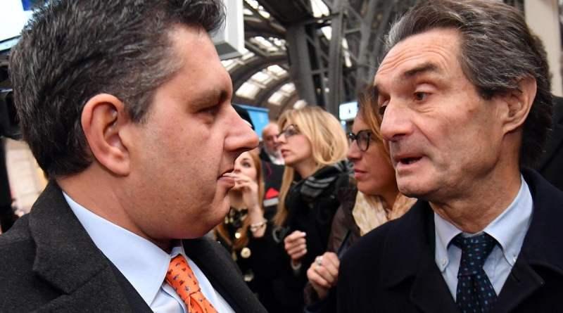 """Tangenti in Lombardia, Fontana ammette: """"Anche Comi diceva che il coordinatore di Fi era Caianiello"""""""
