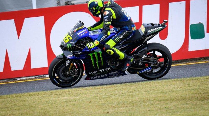 """MotoGP 2019. Valentino Rossi: """"Troppa fatica in frenata"""""""