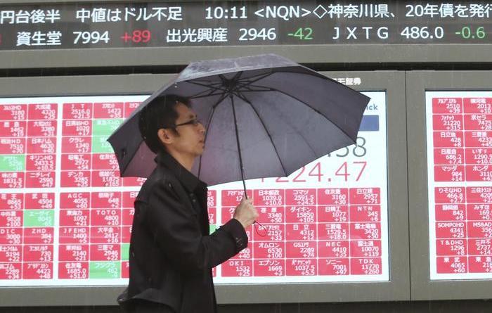 Borsa: Tokyo chiude in ribasso (-1,05%)
