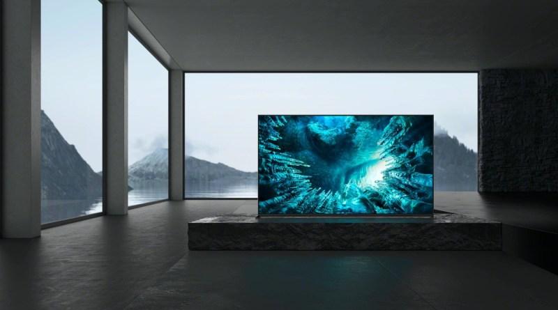 Sony presenta la nuova gamma di Android TV LCD Ultra HD e 8K