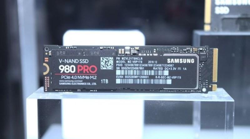 Samsung svela al CES il nuovo SSD 980 PRO con interfaccia PCIe 4.0
