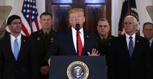 Il discorso di Trump dopo l'attacco dell'Iran alle basi Usa: «Nessuna vittima per i raid»