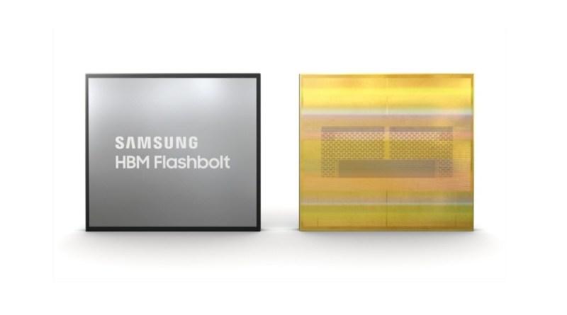 Samsung annuncia le memorie HBM2E Flashbolt: tutte le caratteristiche