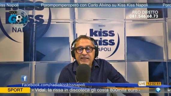 """Alvino: """"La panchina del Napoli a Marassi metteva i brividi, da top club europeo!"""""""