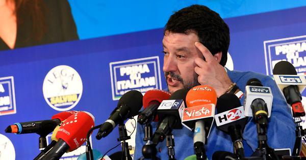 """Matteo Salvini contro il Pd a Cremona: """"Fare meno figli contro il riscaldamento climatico? Roba da matti"""""""