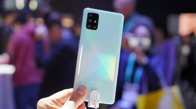 Samsung Galaxy A71 calo di prezzo improvviso su Amazon ed eBay