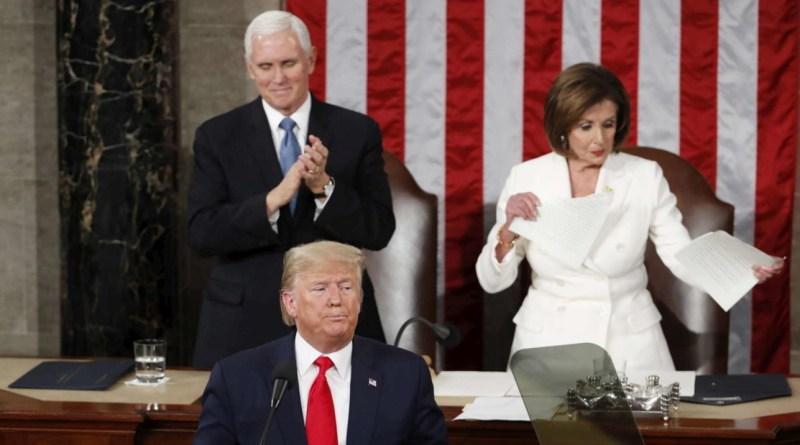 """Trump: """"Impeachment? E' stata una vergogna, Pelosi persona orribile"""""""