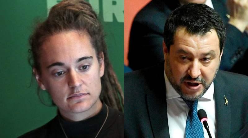 Salvini e la diffamazione a Carola Rackete per la Sea Watch: procura di Milano chiude le indagini