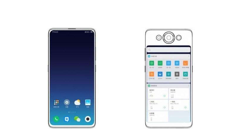 Xiaomi lascia e raddoppia: via la fotocamera frontale, ma dietro c'è un secondo display | Brevetto