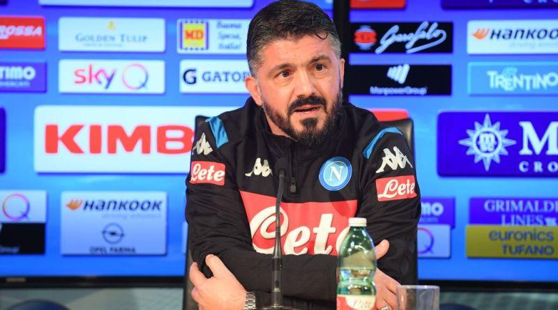 """RILEGGI LA DIRETTA – Gattuso: """"Allan si è allenato male e non l'ho convocato. Nessun catenaccio, solo compattezza. Arbitri? Devono spiegare le scelte"""""""""""
