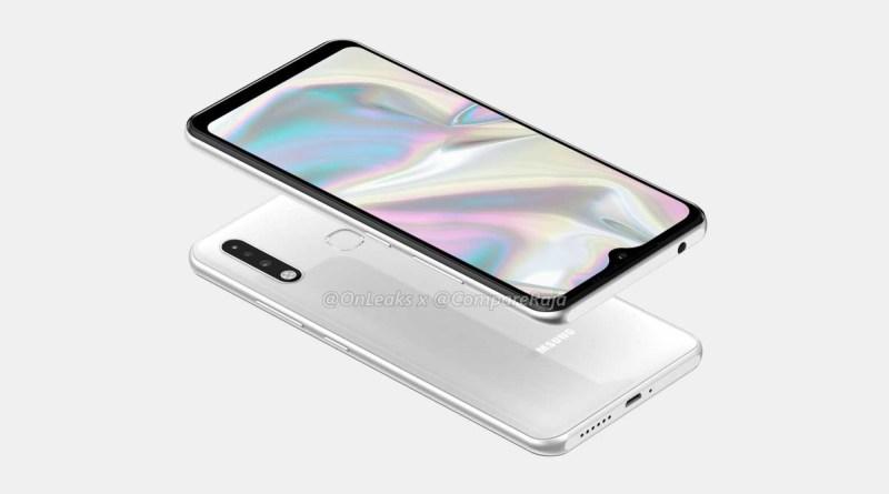 Samsung Galaxy A70e, prime informazioni e render leaked