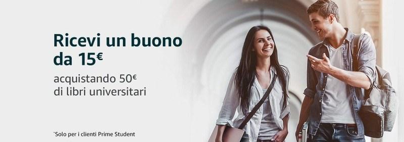 Amazon Prime Student: come avere 90 giorni gratis e 15€ di bonus