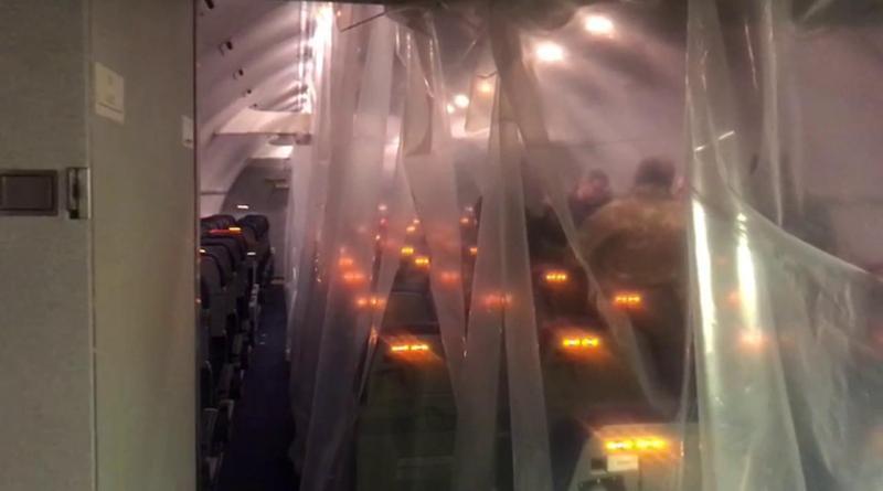 Coronavirus, la partenza dell'aereo che riporterà gli italiani della nave Diamond Princess