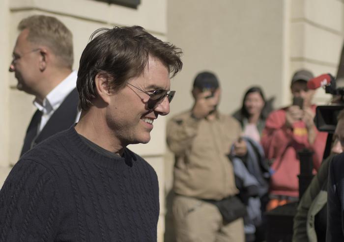 Virus ferma riprese Tom Cruise a Venezia