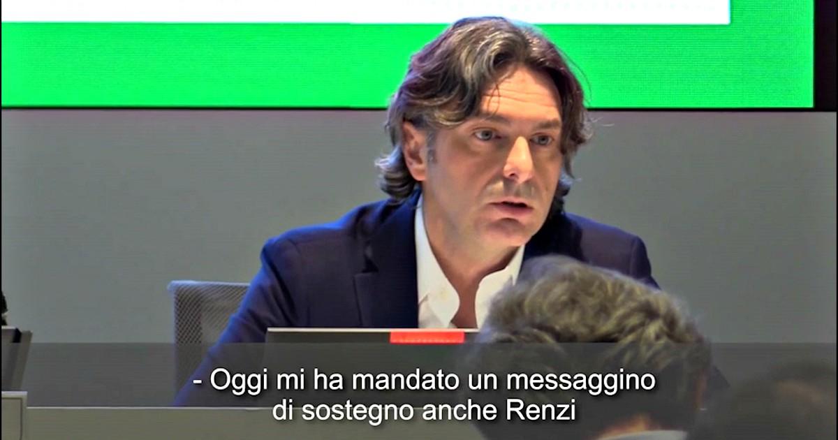 """Governo, il fuorionda di Fontana: """"Mi ha mandato un messaggino di sostegno anche Renzi"""