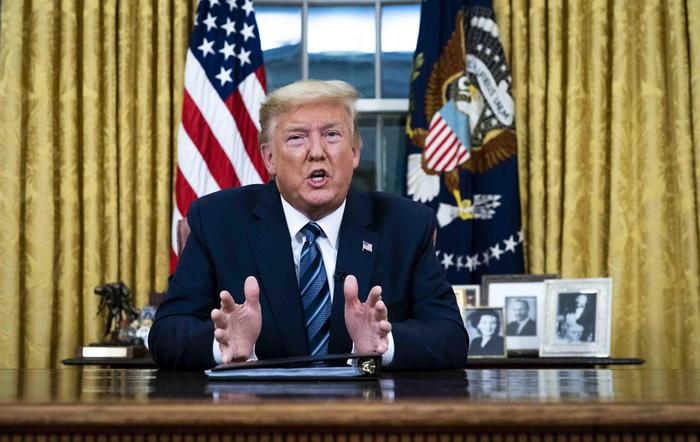 Virus: Trump critica Europa, stop viaggi