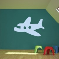 Airplane Wall Decal _ Kids Room Decor _ Trendy Wall Designs