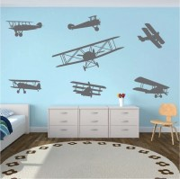 airplane wall decals   Roselawnlutheran
