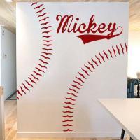 baseball wall decals | Roselawnlutheran