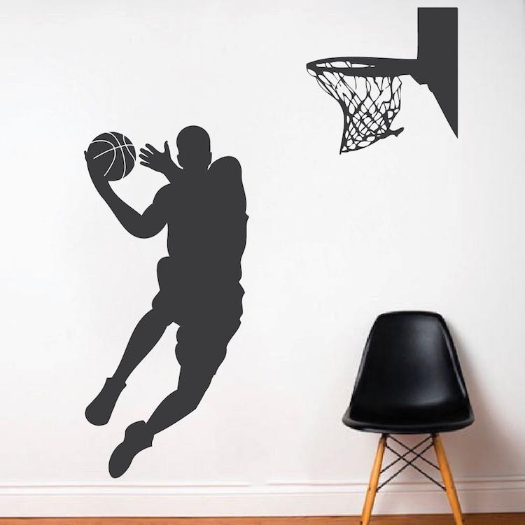 Basketball Player Wall Decal