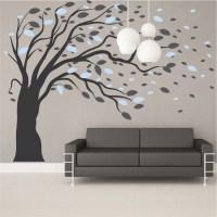 Blowing Tree Wall Art Design | Trendy Wall Designs