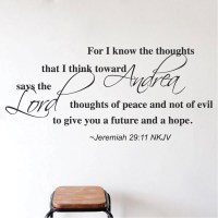 Custom Scripture Vinyl Wall Decal Sticker From Trendy Wall ...