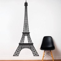 Eiffel Tower Wall Decal & Paris Room Stickers From Trendy ...