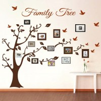 Picture Frame Family Tree Wall Art, Tree Decals | Trendy ...