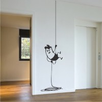 Intruder Wall Decal Decor _ Interior Vinyl Room Stickers