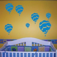 Hot Air Balloon Wall Decals - Trendy Wall Designs