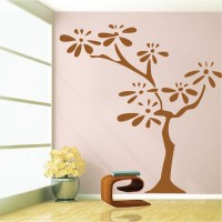 Flower Tree Wall Decal - Trendy Wall Designs