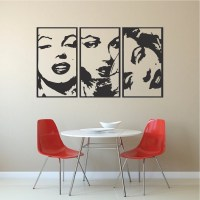 Marilyn Monroe Panel Wall Decals _ Modern Panel Decals ...