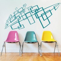 Geometric Wall Decal & Interior Stickers From Trendy Wall ...