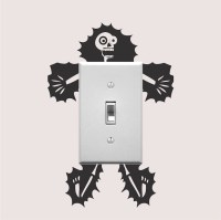 Electrocuted Guy Outlet Decal Sticker _ Vinyl Wall ...