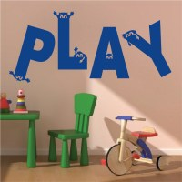 Play Room Vinyl Wall Decal Sticker From Trendy Wall Designs