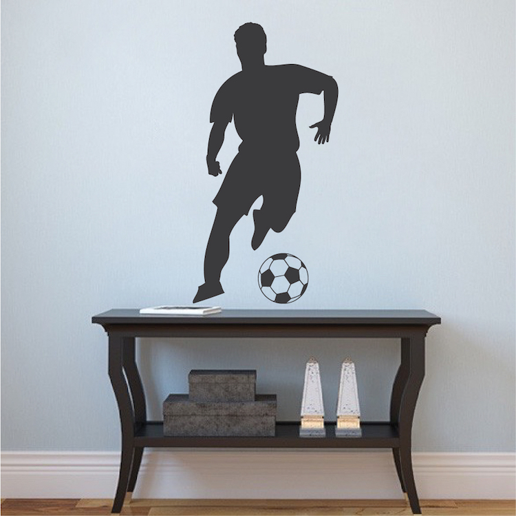 Soccer Player Wall Decal
