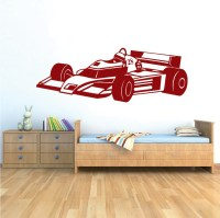 Race Car Wall Decal _ Kids Sports Car Stickers _ Trendy ...