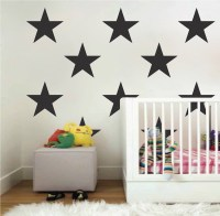 Large Bedroom Star Stickers - Bedroom Stars Wall Decals ...