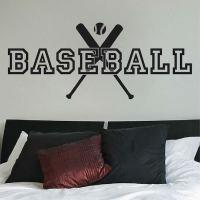 Baseball Wall Decal _ Trendy Wall Designs