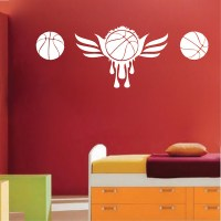 Basketball Wall Mural - Trendy Wall Designs