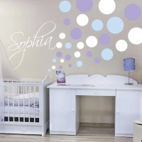 Nursery Polka Dot Wall Decals | Trendy Wall Designs
