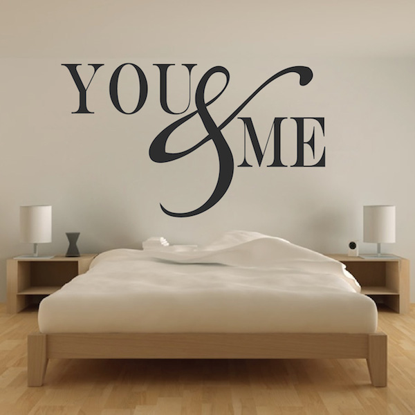 Romantic Bedroom Wall Decal